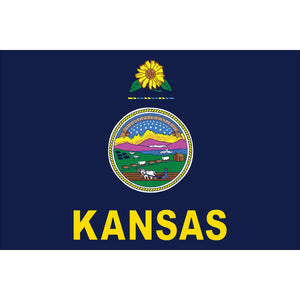 Kansas Flags - Nylon