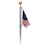 Liberty Telescoping Flagpole- Dark Bronze -  COMING SOON