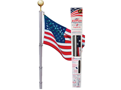 EZPOLE Flagpoles   American Made Flagpoles and Accessories