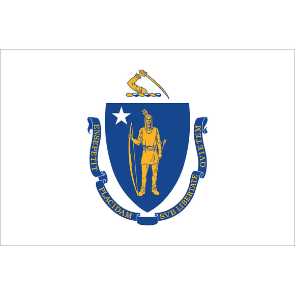 Massachusetts Flags - Nylon