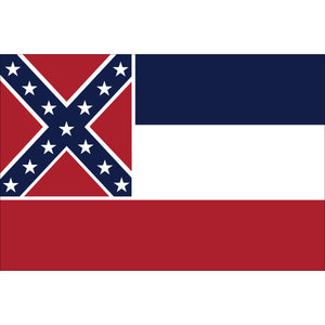 Mississippi Flags - Nylon