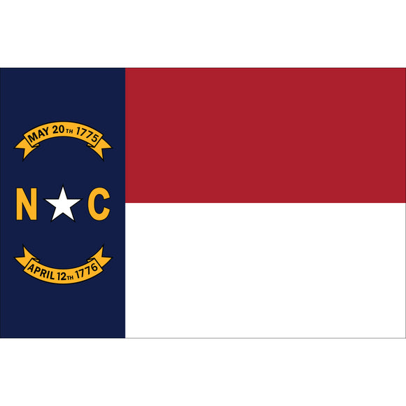 North Carolina Flags - Nylon
