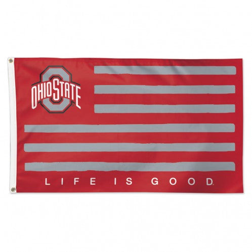The Ohio State Flag - Life is Good
