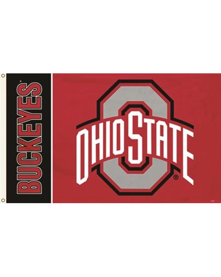 The Ohio State Buckeyes Flag