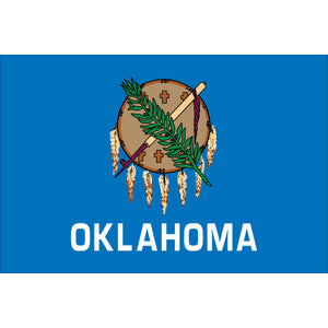 Oklahoma Flags - Nylon