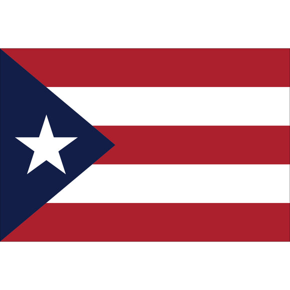 Puerto Rico Flags - Nylon
