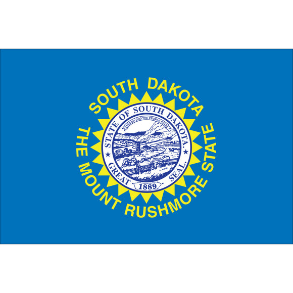 South Dakota Flags - Nylon