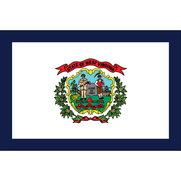 West Virginia Flags - Nylon