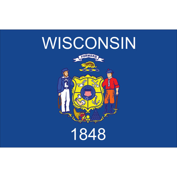 Wisconsin Flags - Nylon