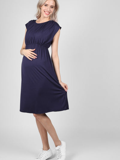 Navy Louise Dress