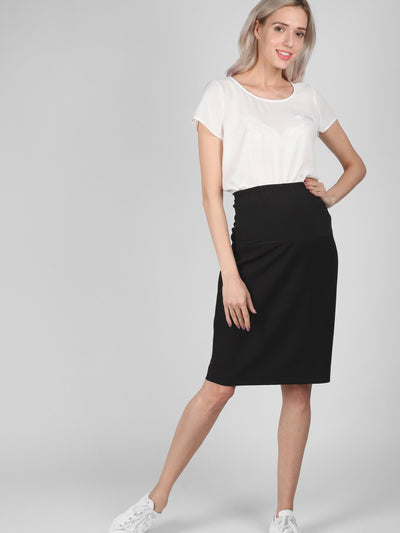Online Maternity Office Pencil Skirt | Office Pencil Skirt Bellefinery