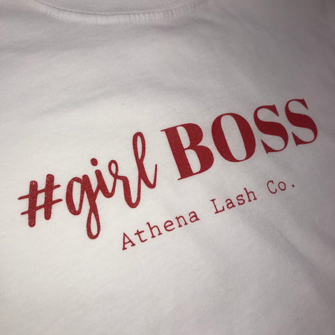 Girl Boss Shirts - Athena Lash Co.