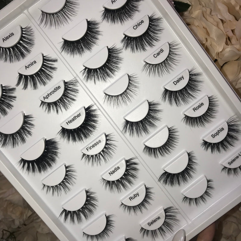 16-Pair Lash Book - Athena Lash Co.