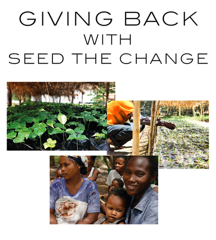 Giving back, with seed the change