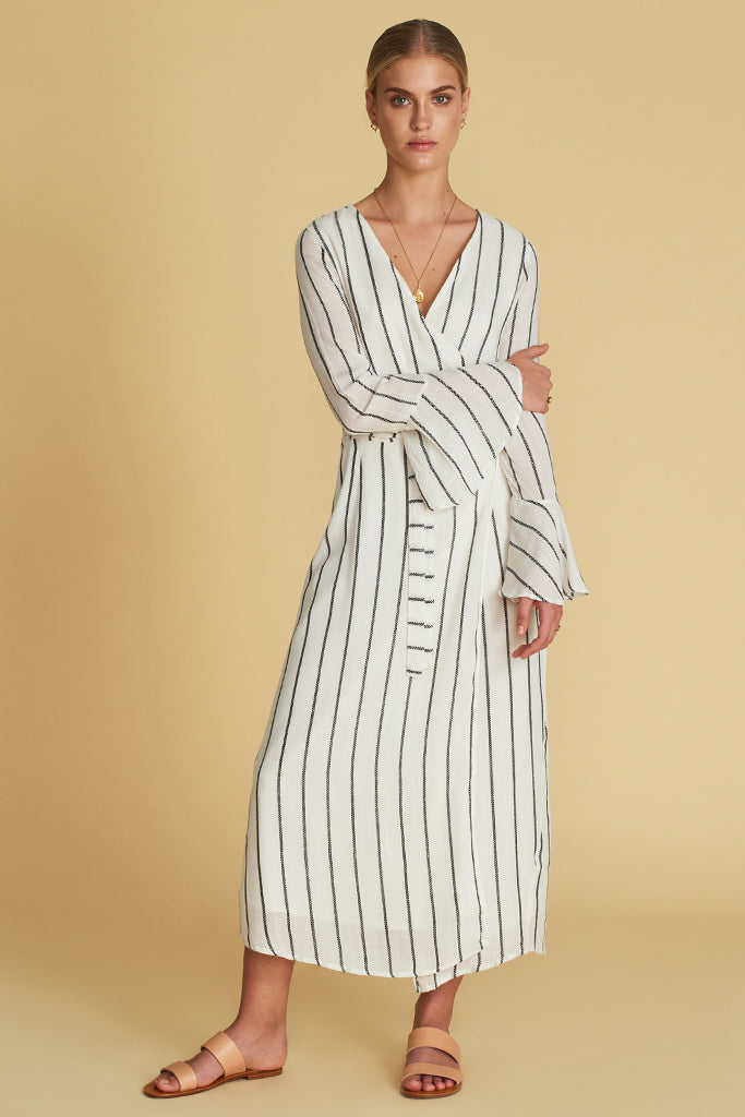 THE SOLÈNE WRAP DRESS