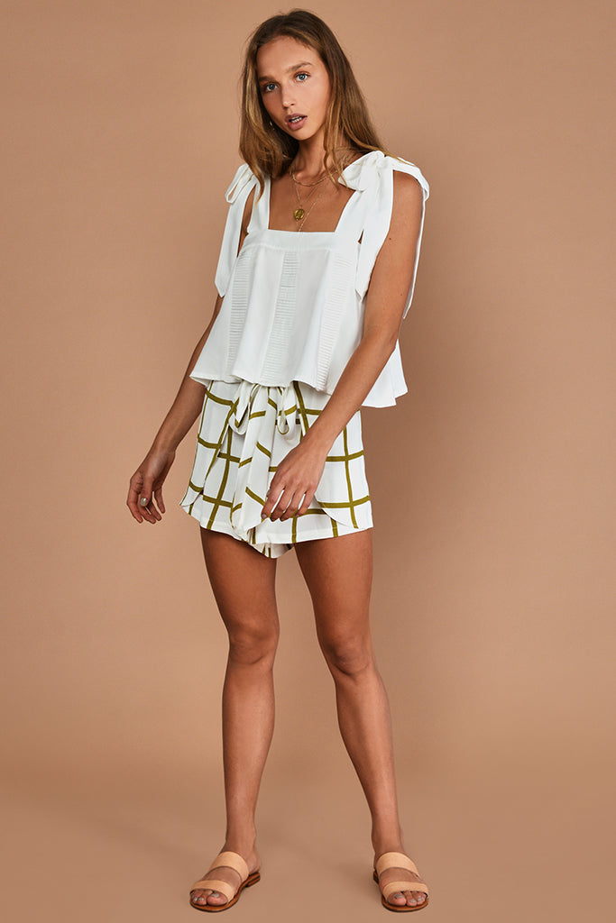 THE HELENE WRAP SHORTS