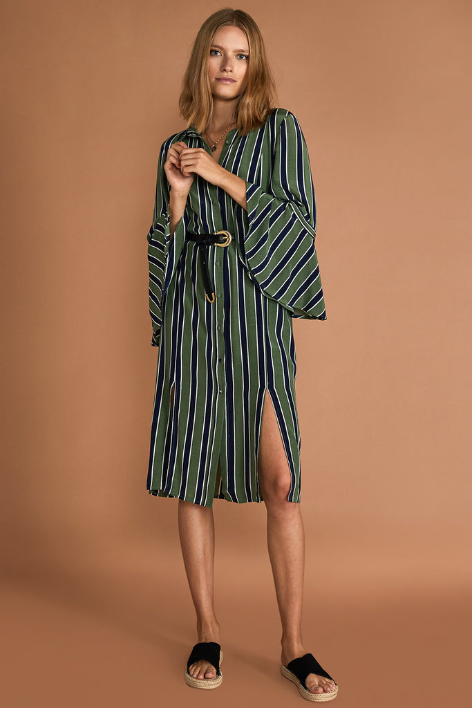 THE CAROLIN SHIRT-DRESS