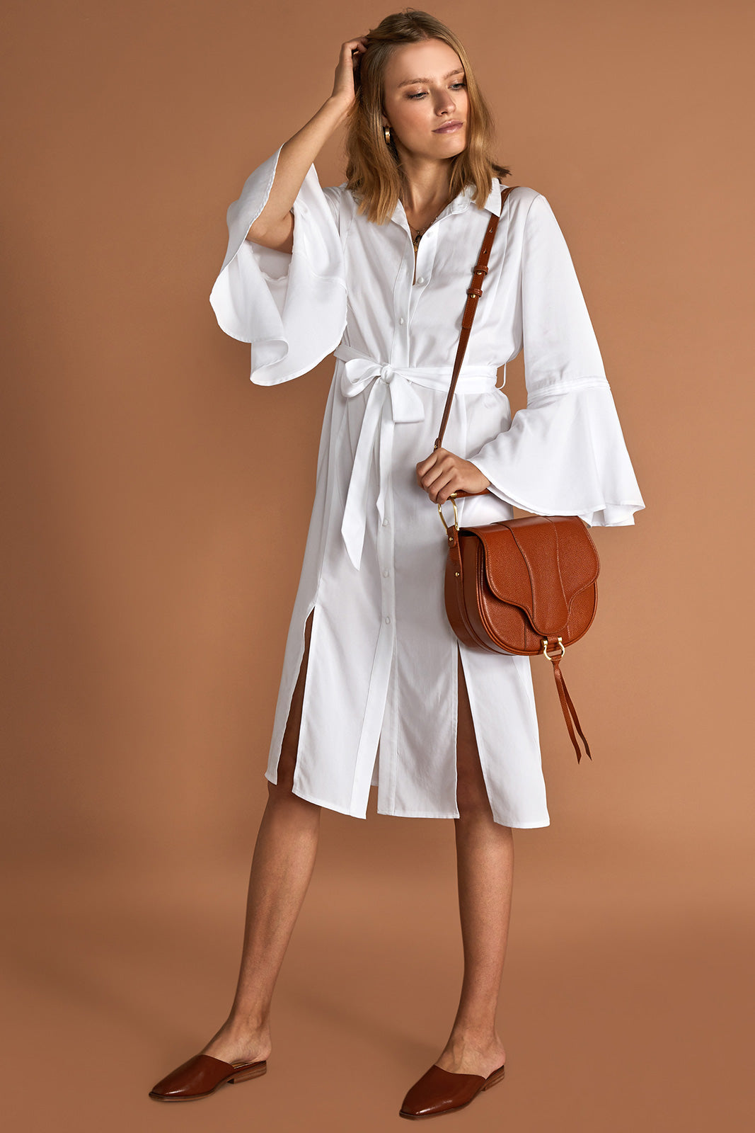 THE CAROLIN SHIRT DRESS