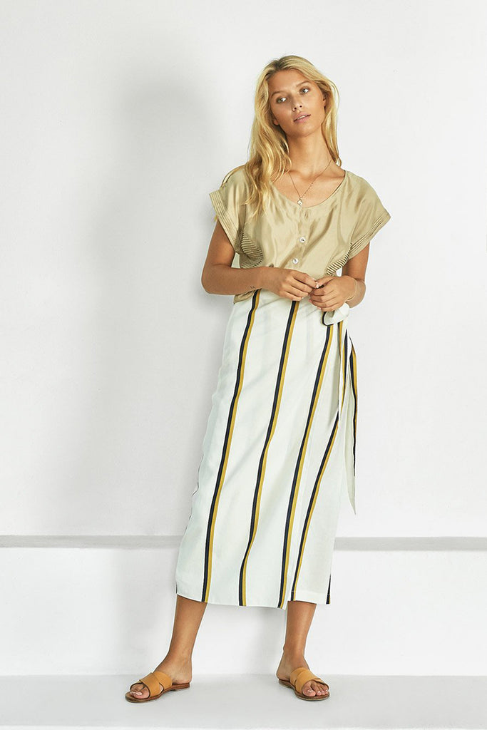 THE ANNIEAK WRAP SKIRT