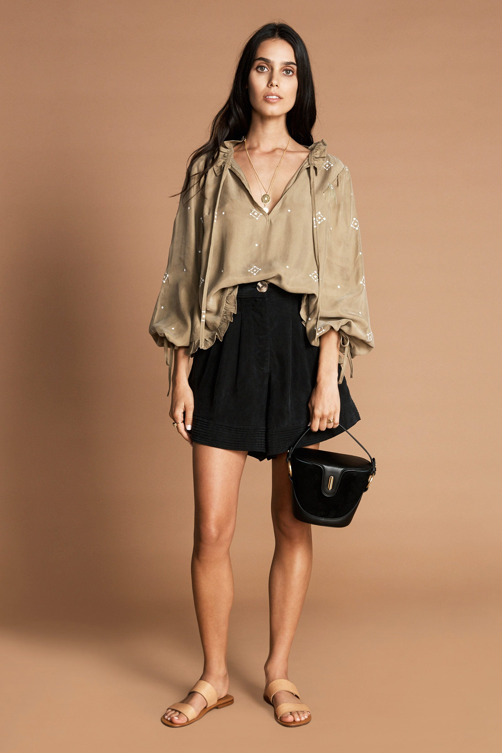 THE YOLETTE BLOUSE