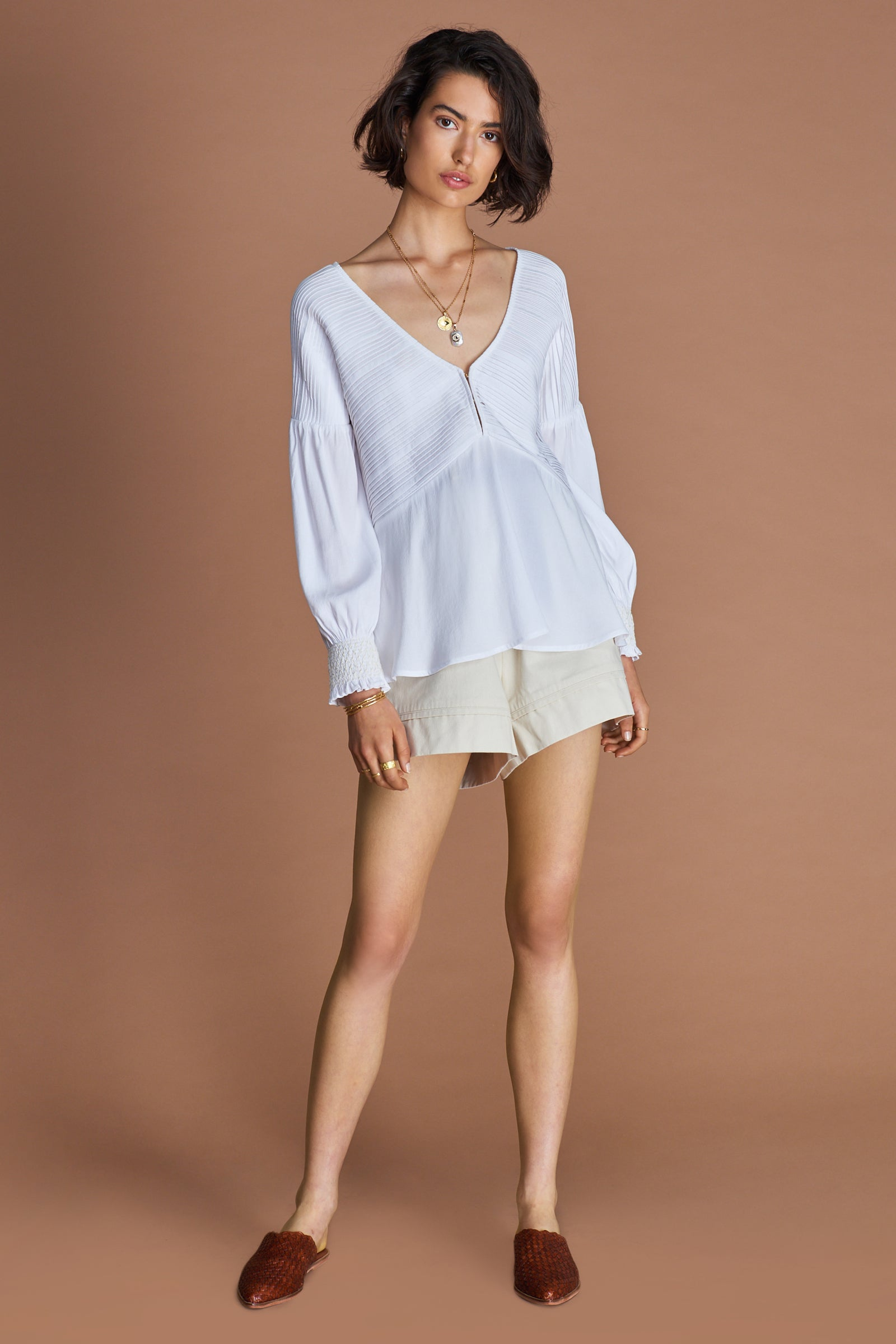 THE DARYA BLOUSE
