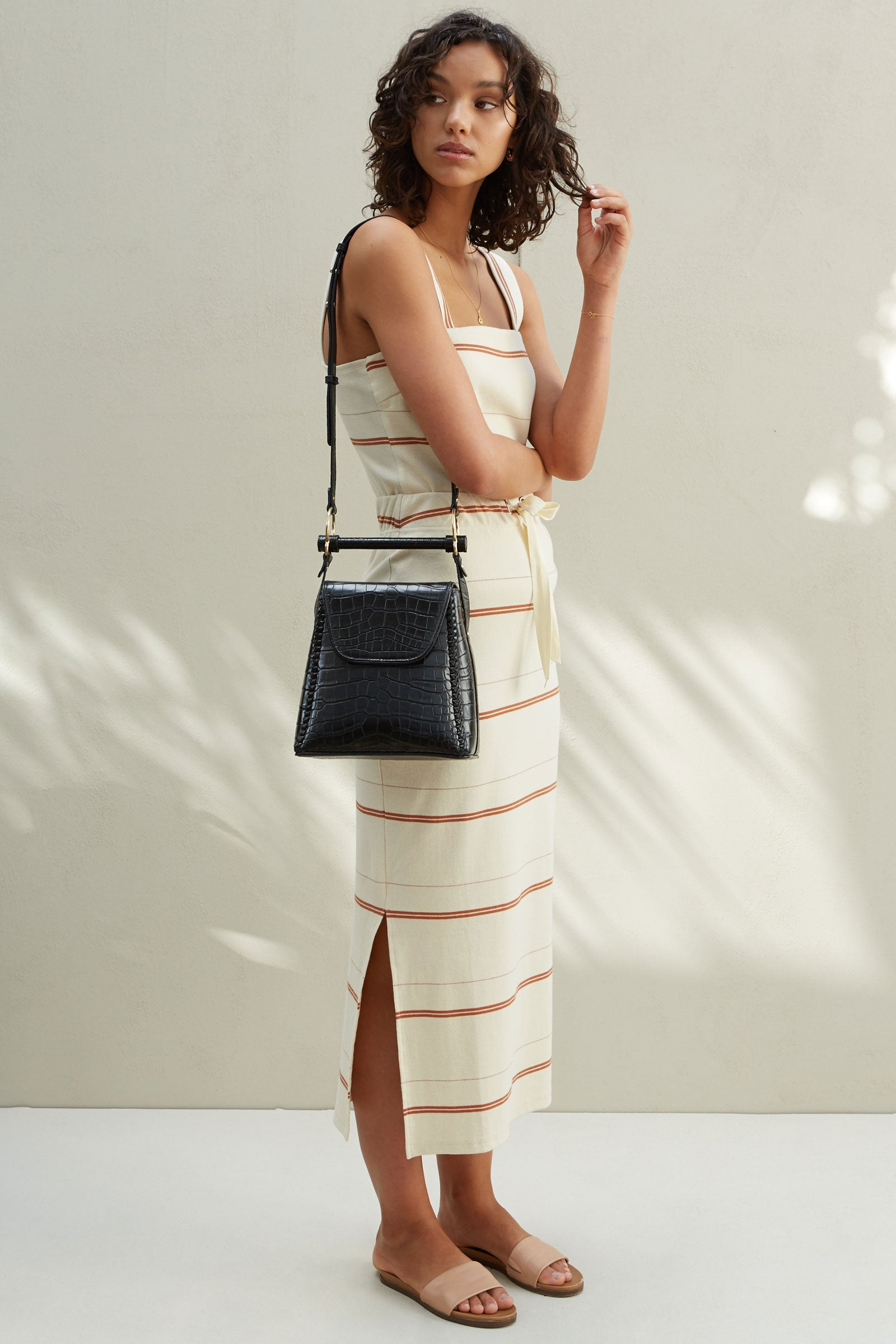 THE LARA RIBBED SKIRT