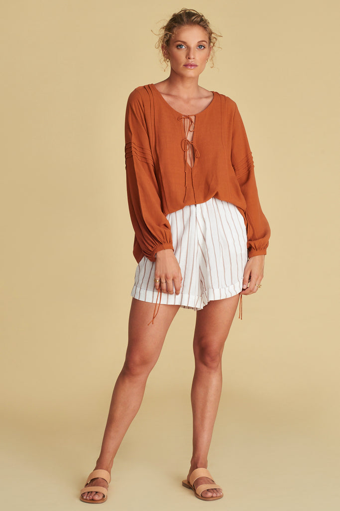 THE SAVANNAH BLOUSE