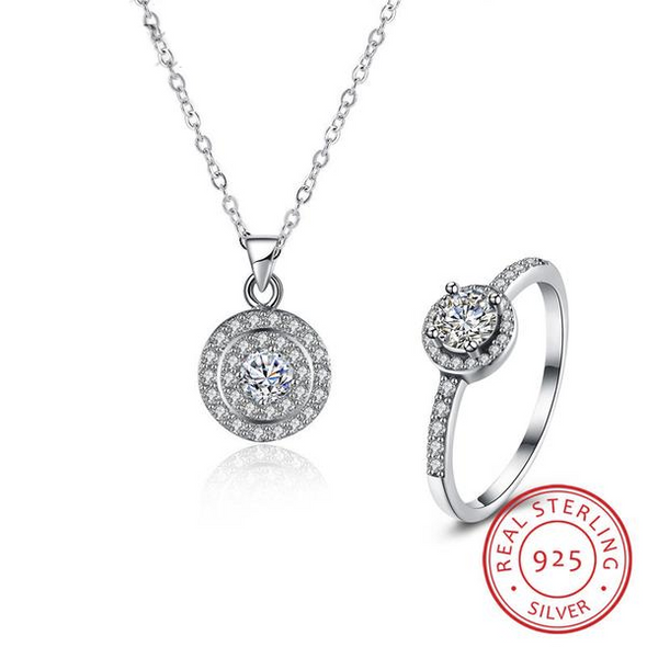 Luxxis 925 Sterling Silver Set - Luxxis Jewelry