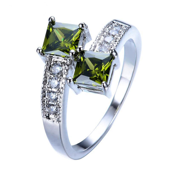 Luxxis Green Peridot Ring - Luxxis Jewelry