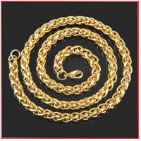 Customized Round Link Chain - Luxxis Jewelry