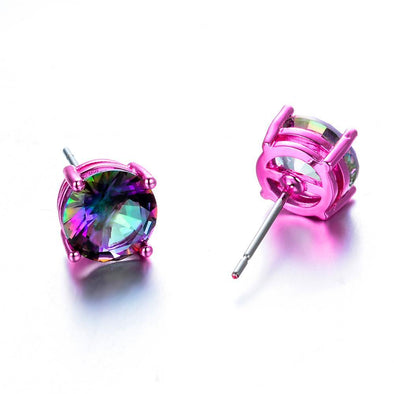 Luxxis Mystery Bohemian Rainbow Stud Earrings - Luxxis Jewelry