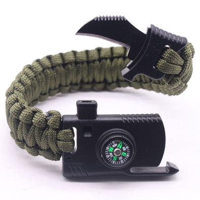 Luxxis Multi-function Paracord Survival Bracelet
