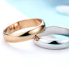 Simple Promise Wedding Couples Rings - Luxxis Jewelry