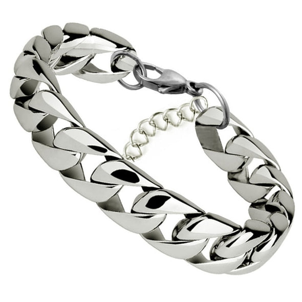 Luxxis Stainless Steel Chain Bracelets