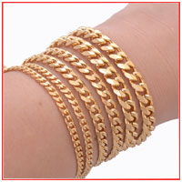 Stainless Steel Gold Link Chain - Luxxis Jewelry