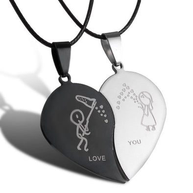 Broken Heart Necklaces - Luxxis Jewelry