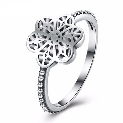 Luxxis Hollow Star Silver Wedding Ring - Luxxis Jewelry