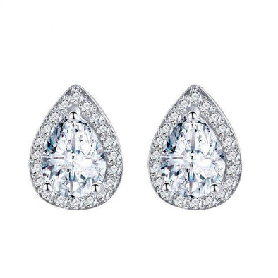 Luxxis White Stud Earrings - Luxxis Jewelry