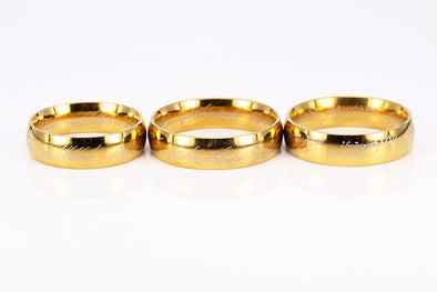 Hobbit Letter Rings - Luxxis Jewelry