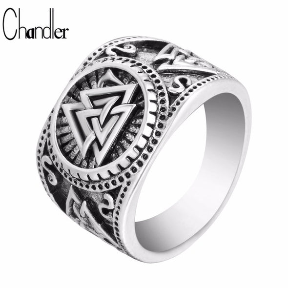 Valknut Signet Ring - Luxxis Jewelry