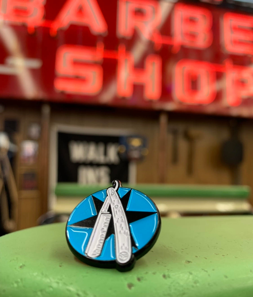 Shop Logo Enamel Pin