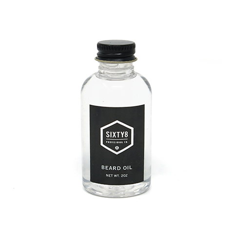 Sixty8 Provisional Unscented Beard Oil