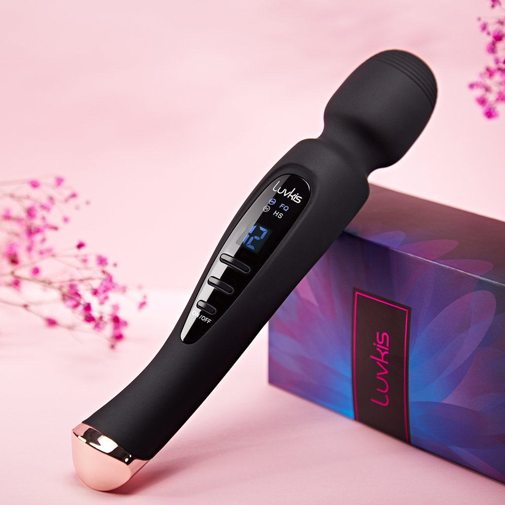 Multispeed Magic Wand Vibrator 12 Speeds
