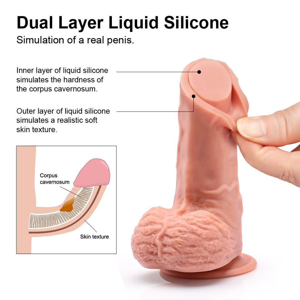 Large Silicone Dildo For Women 11''