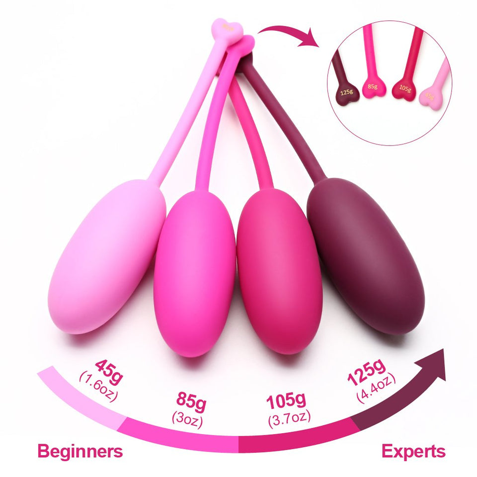 Premium Kegel Ball Set (4pcs)