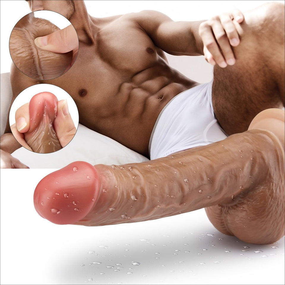 Large Suction Cup Dildo 8'' Big