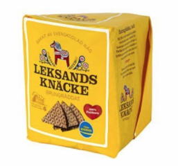 Swedish Crispbread Brownbaked Wholegrain - 200g