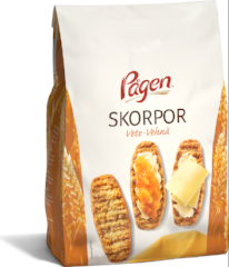 Delicious Swedish Wheat Krisprolls (skorpor)