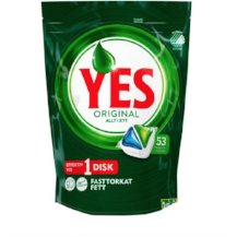 Dishwashing tablets - YES (53pcs)