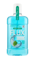 Mouthwash FLUX soft mint 500ml